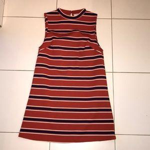 Striped Straight Dress